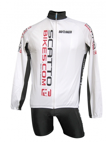 Bike Wear - Kledij Wintervest White