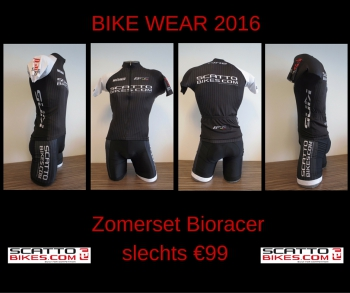 Bike Wear - Kledij zomerset (Black&White)